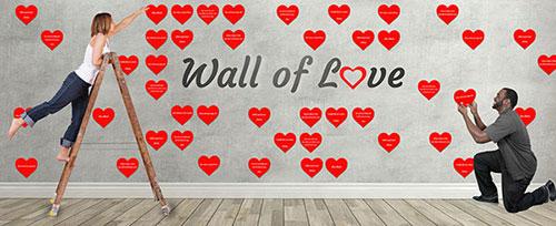 Wall of Love GivingGrid Example